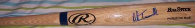 Alan Trammell (Detroit Tigers) autographed Rawlings Big Stick bat