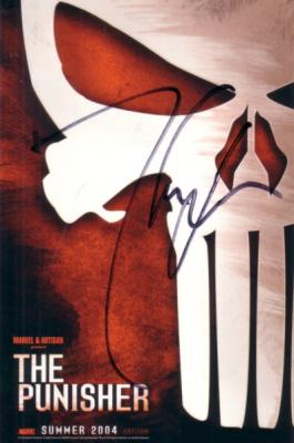 Thomas Jane autographed The Punisher 4x6 promo card