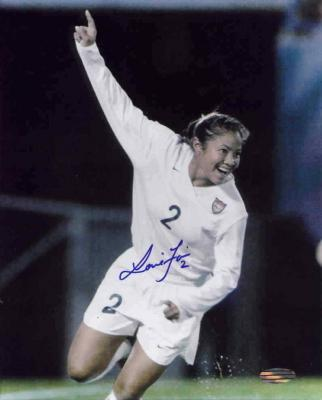 Lorrie Fair autographed U.S. National Team 8x10 photo (Steiner)