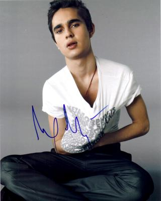 Max Minghella autographed 8x10 photo