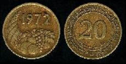 20 centimes 1972 (km 103)