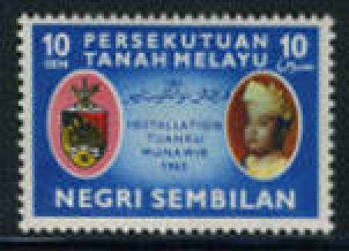Negeri Sembiland, Yang di-Pertuan Besar 1v; Year: 1961