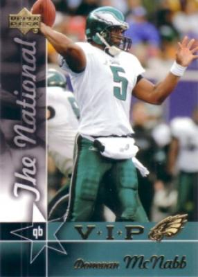 Donovan McNabb 2005 Upper Deck National Convention VIP promo card