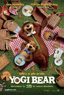 Yogi Bear 2010 movie promo activity book