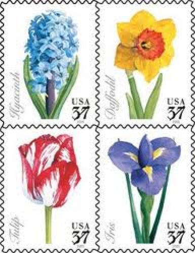 Stamps; U.S.A Spring is in the air; Flowers