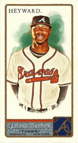 2011 Topps Allen & Ginter Mini #335 ~ Jason Heyward