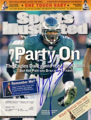 Jeremiah Trotter autographed Eagles 2005 Sports Illustrated