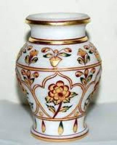 MARBLE DECORATIVE POTS