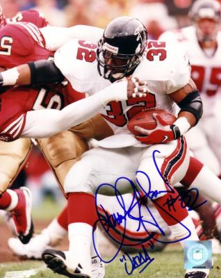 Jamal Anderson autographed Atlanta Falcons 8x10 photo