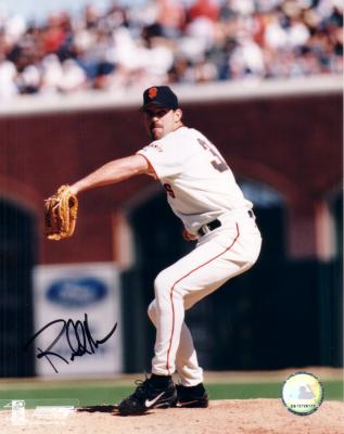 Robb Nen autographed 8x10 Giants photo