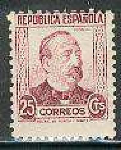 Manuel Ruiz Zorilla 1v; Year Issue: 1933; Spain Stamp
