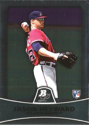 2010 Bowman Platinum #91 ~ Jason Heyward RC