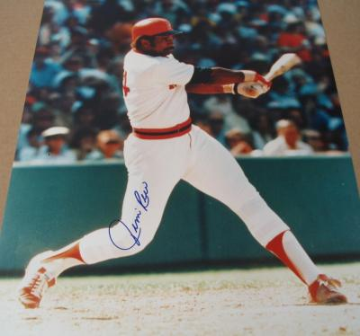 Jim Rice autographed Boston Red Sox 16x20 poster size photo