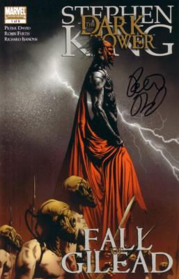 Peter David autographed Dark Tower Gilead #1 comic book