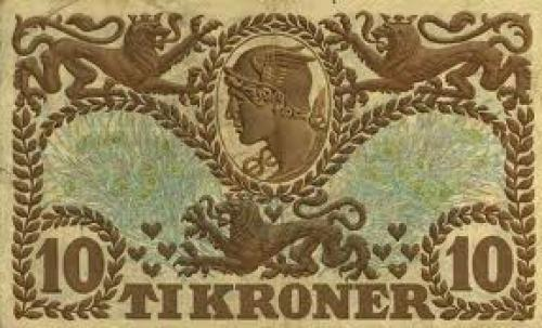 Banknotes: 10 Kroner Denmark