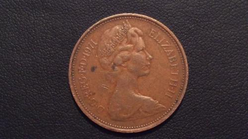 1p of 1971 new pence