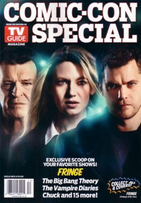 Fringe 2011 Comic-Con TV Guide magazine