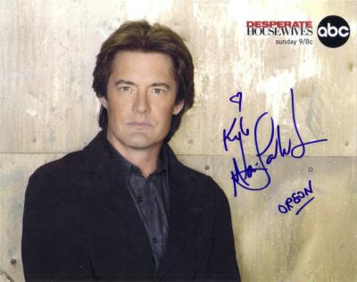 Kyle MacLachlan autographed 8x10 Desperate Housewives photo