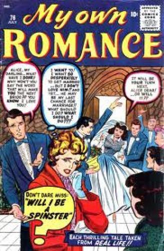 Comics; My Own Romance #76, 1960