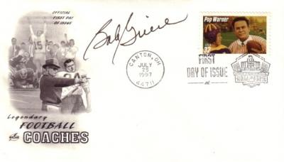 Bob Griese (Dolphins) autographed Pop Warner First Day Cover cachet