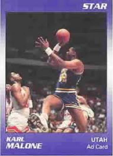 Basketball Card; KARL MALONE; Utah Jazz; Center