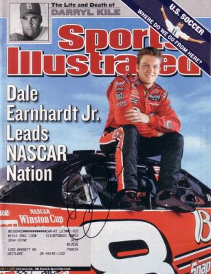 Dale Earnhardt Jr. autographed 2002 Sports Illustrated