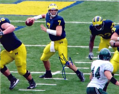 Chad Henne autographed Michigan 8x10 photo