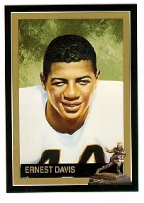 Ernie Davis Syracuse Heisman Trophy winner card