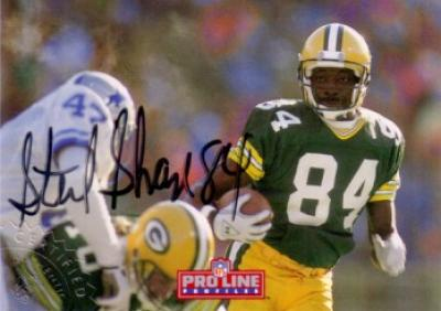 Sterling Sharpe certified autograph Green Bay Packers 1992 Pro Line Profiles card