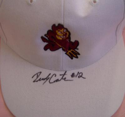 Rudy Carpenter autographed Arizona State Sun Devils cap