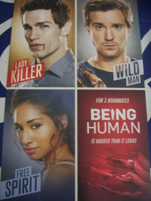Being Human 2011 Comic-Con promo poster (Sam Witwer)