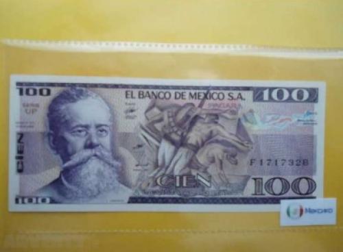 Mexico 100 Pesos 1982
