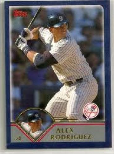 Baseball Card; 2006 Topps; Alex Rodriguez; Yankees