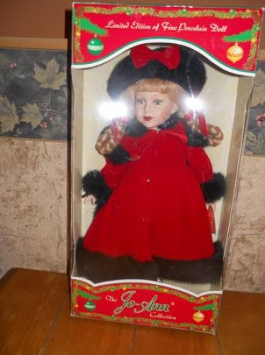 """Isabelle"" 17"" limited edition porcelain doll"
