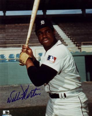 Willie Horton autographed 8x10 Detroit Tigers photo