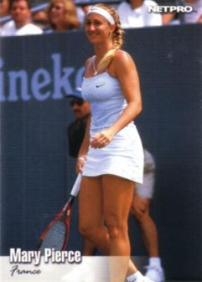 Mary Pierce 2003 Netpro card