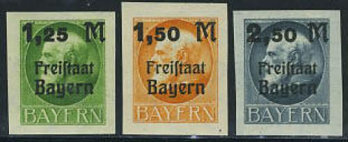 Overprints 3v imperforated