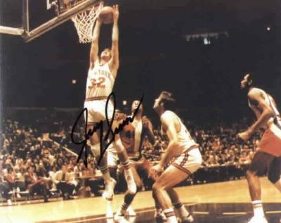 Jerry Lucas autographed 8x10 New York Knicks photo