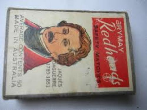Match Boxes - Brymay Redheads Safety Match made in Australia