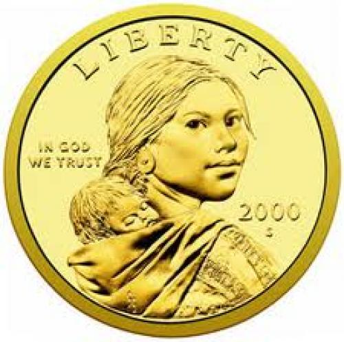 Coins; The Sacagawea dollar coin was introduced in 2000