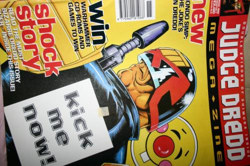 Judge Dredd Megazine No. 19 1996