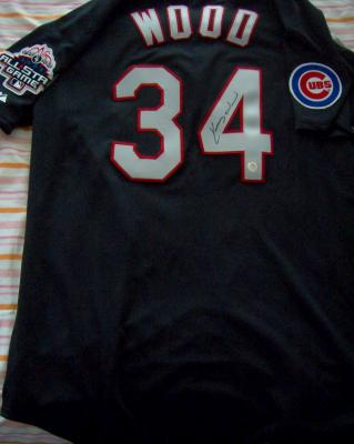 Kerry Wood autographed Chicago Cubs 2003 All-Star Game jersey
