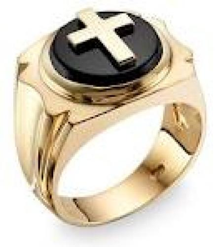 Jewelry Men's Insignia Onyx