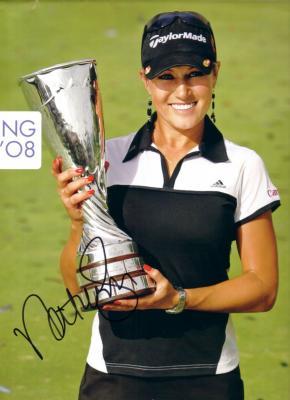 Natalie Gulbis autographed 2008 official calendar