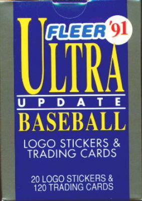1991 Ultra Update set factory sealed (Jeff Bagwell Mike Mussina Ivan Rodriguez RCs)