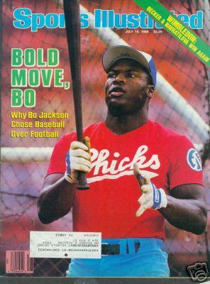 Bo Jackson Memphis 1986 Sports Illustrated