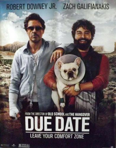 Poster Movie  (Due Date)