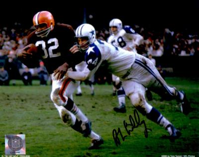 Bob Lilly autographed Dallas Cowboys 8x10 photo