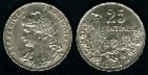 25 centimes; Year: 1904-1905; (km 856)