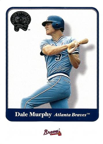 2001 Greats of the Game #98 ~ Dale Murphy